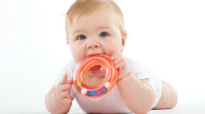 Baby Chewing