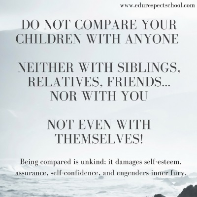 Need to Stop Comparing