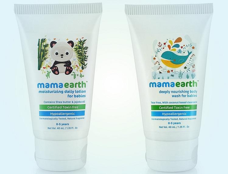 Mamaearth Lotion and Baby Wash