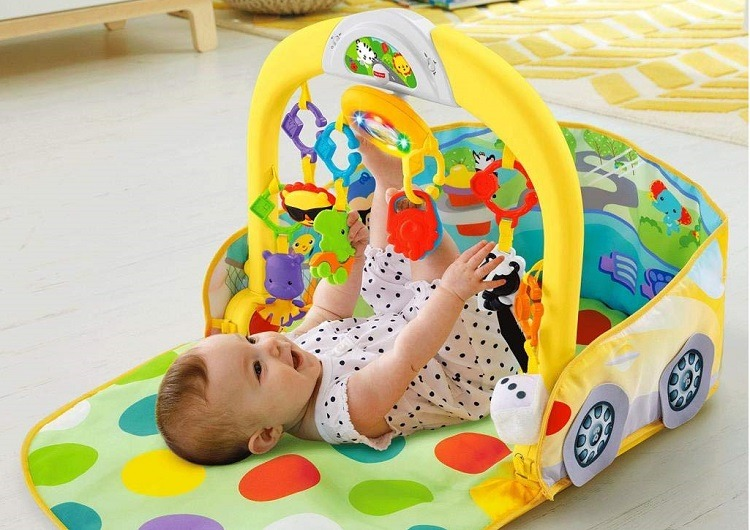 Fisher Price three-in-one Car Gym