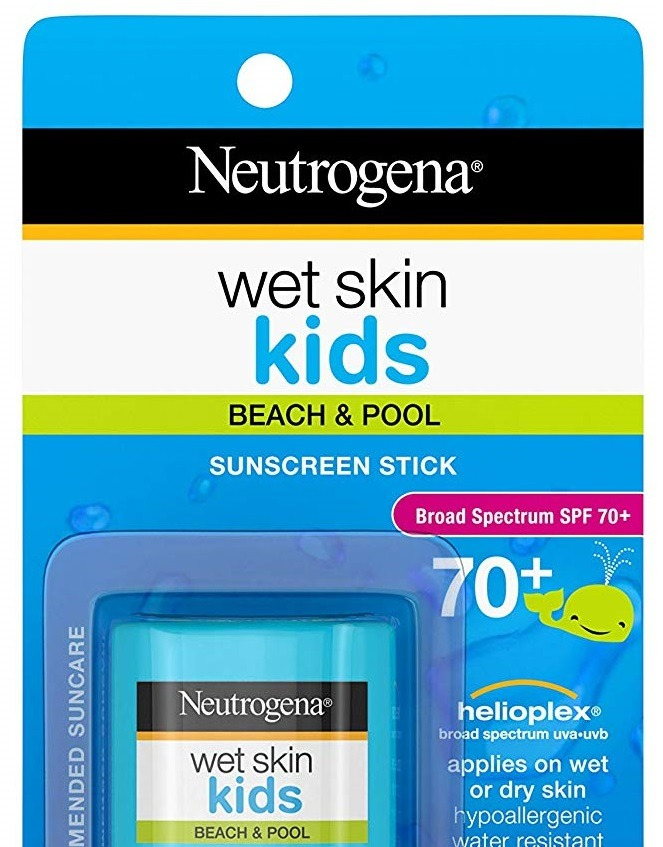 Neutrogena Wet Skin Kids Beach & Pool Sunscreen
