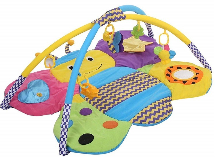 Sun Baby Colourful Butterfly Play Mat