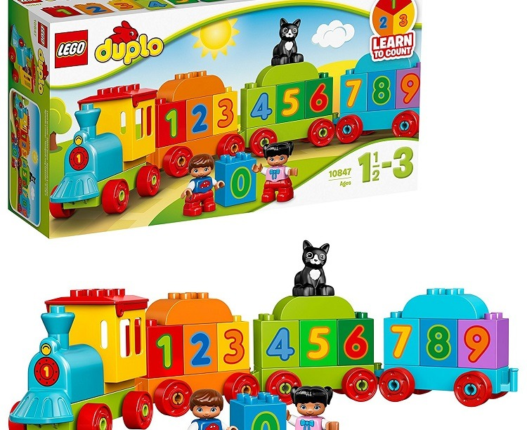 Lego Number Train