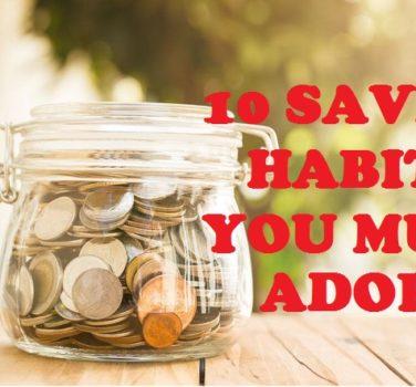 Saving Habits