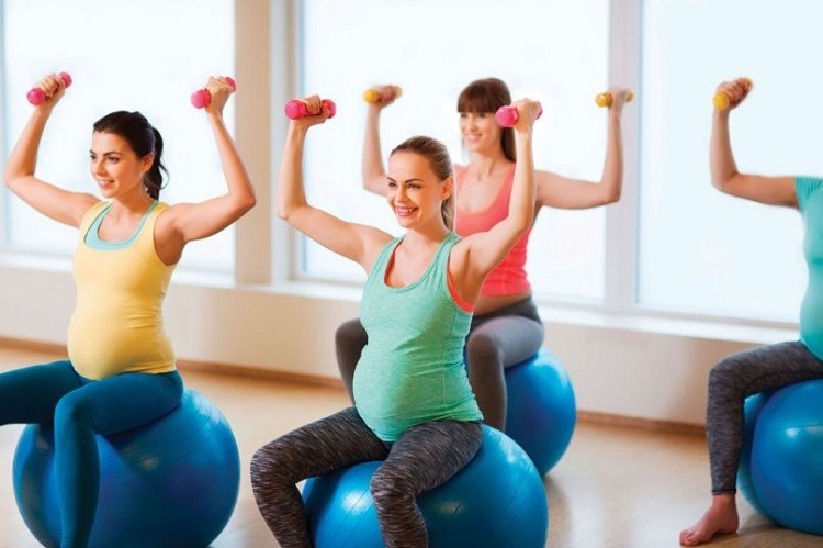 Benefits of exercises during pregnancy
