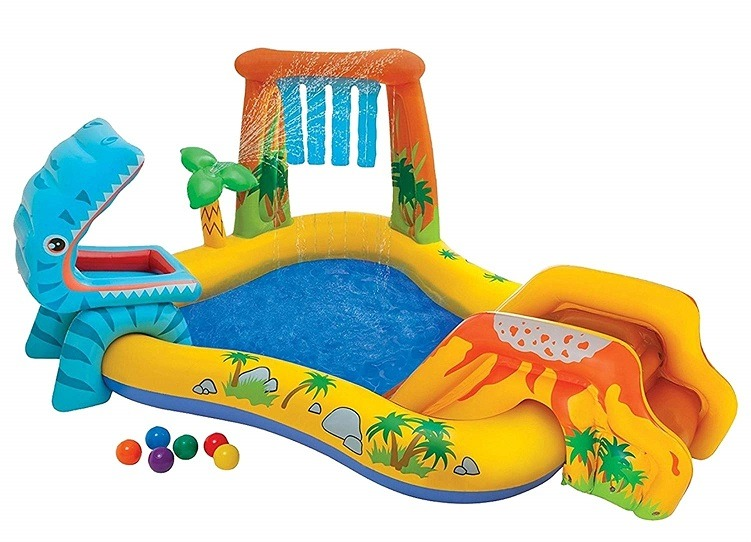 Dinosaur Swimming Pool