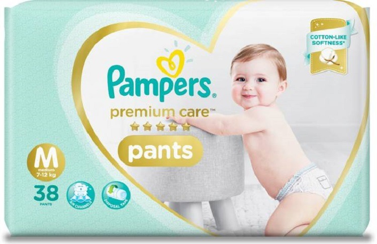 pamper diapers