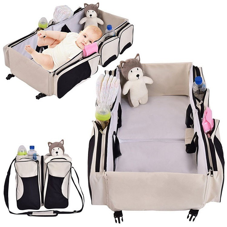 3 in 1 baby diaper bag
