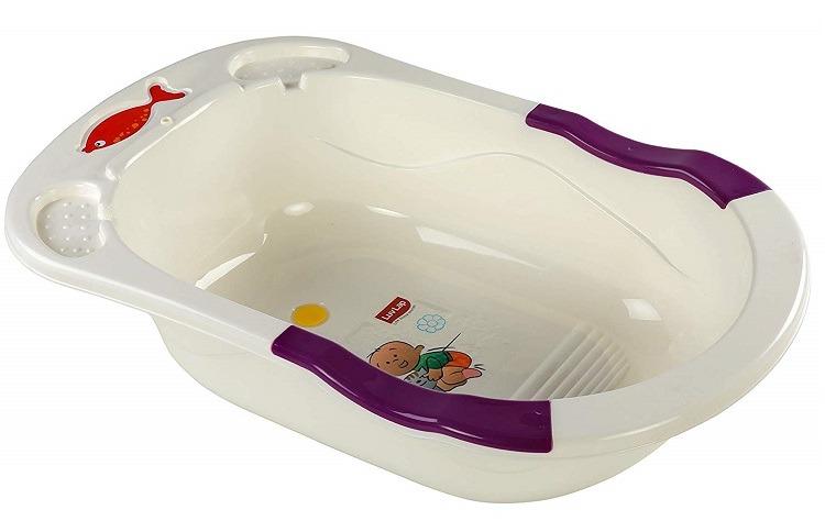 Luvlap Baby Bathtub with Anti-Slip